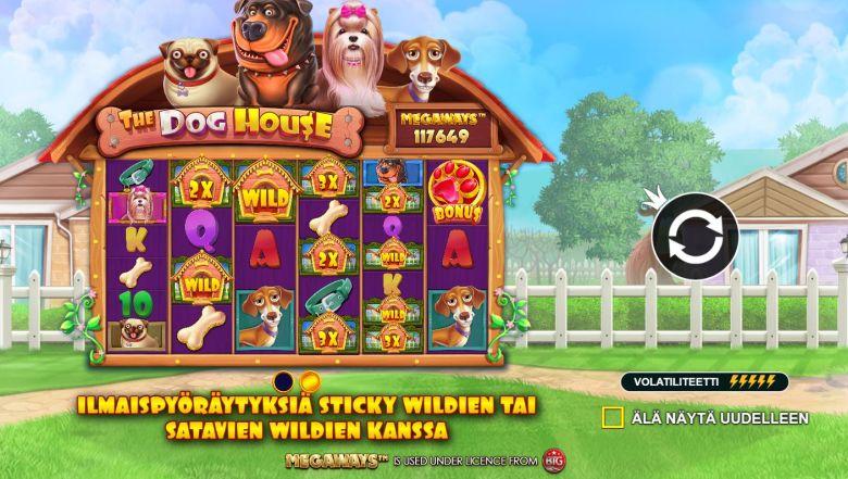 The Dog House Megaways kolikkopeli